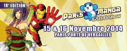 Paris Manga & Sci-Fi Show 2014