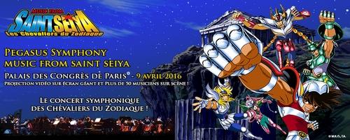 Un concert symphonique à Paris pour le 30e anniversaire des Chevaliers du Zodiaque