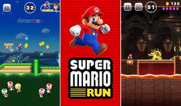 Super Mario Run sur iPhone et iPad