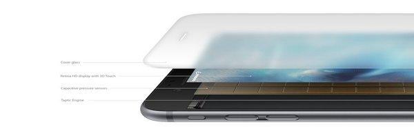 Le 3D Touch du nouvel iPhone 6S