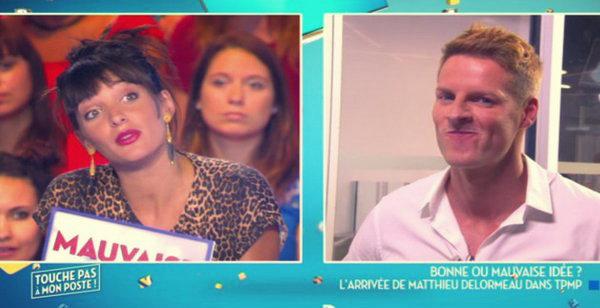 Erika Moulet et Matthieu Delormeau