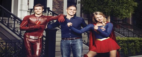 Crossover de Flash et de Supergirl