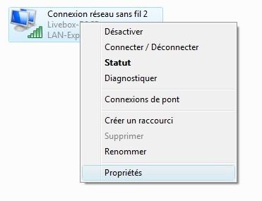 Réseau Open DNS