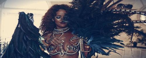 Rihanna au Crop Over 2015
